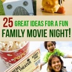 25 Great Ideas For A Fun, Frugal Family Movie Night!