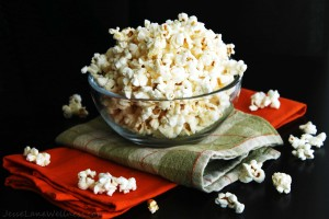 Cheesy Popcorn (vegan, gluten free) Recipe