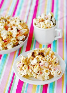 Peanut Butter S'mores Popcorn Recipe