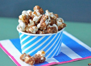 Caramel Apple Popcorn Recipe