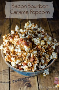 Bacon Bourbon Caramel Popcorn Recipe