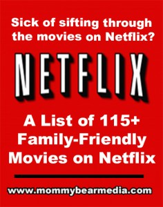 A list of the Netflix Top Movies - MommyBearMedia.com #netflix