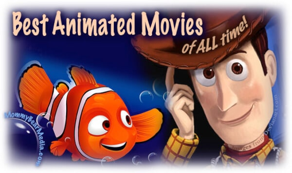 A List of the 25 Best Animated Movies of All Time
